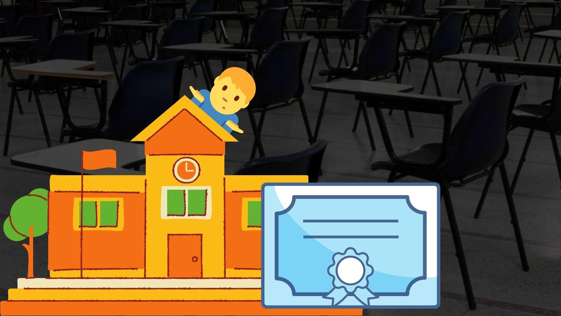 examination hall school degree