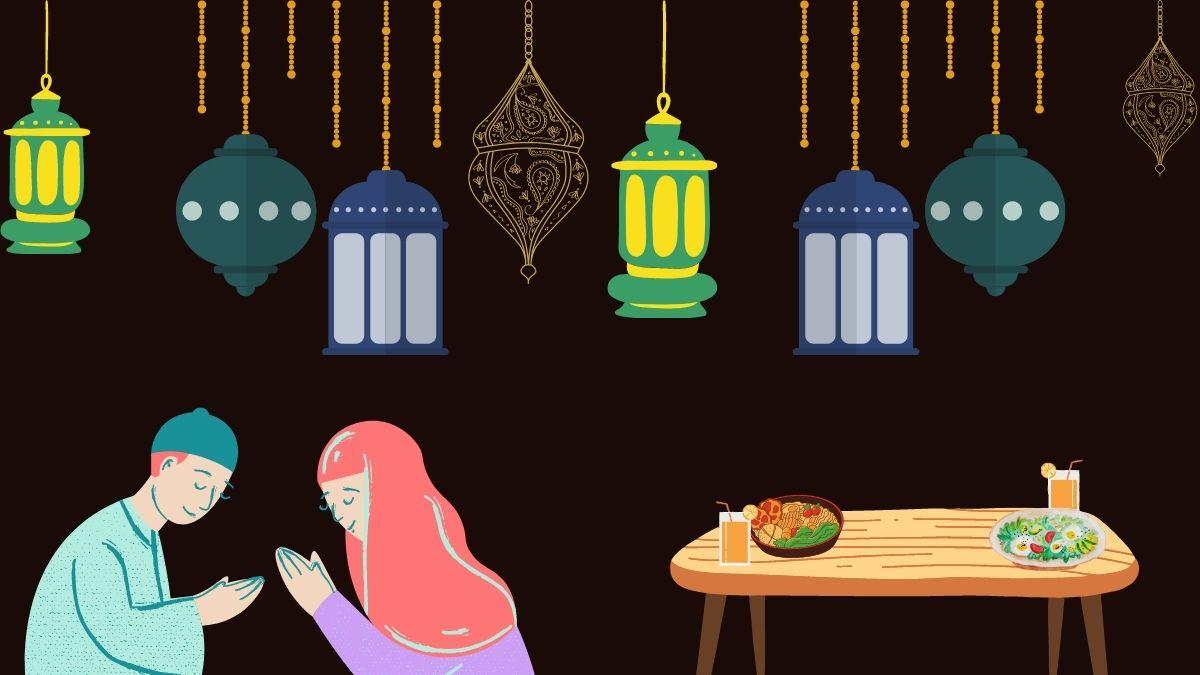 ramadan fasting praying
